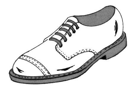 איור של נעל