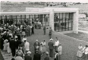 טקס חנוכת הבית, 27 במאי 1957