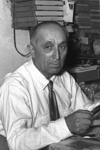המהנדס אלכסנדר זרחין, שהיה חלוץ מחקר התפלת המים בישראל הצעירה
