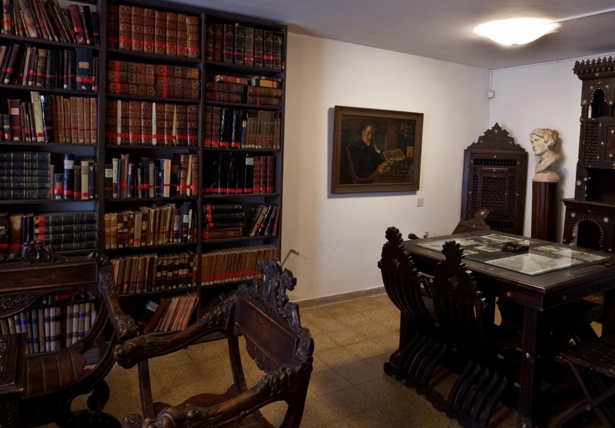 ספריית אליעזר בן יהודה - לפני שיקום
