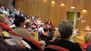 צילום קהל מאירוע של האקדמיה