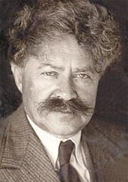 צילום של טשרניחובסקי בשחור ולבן