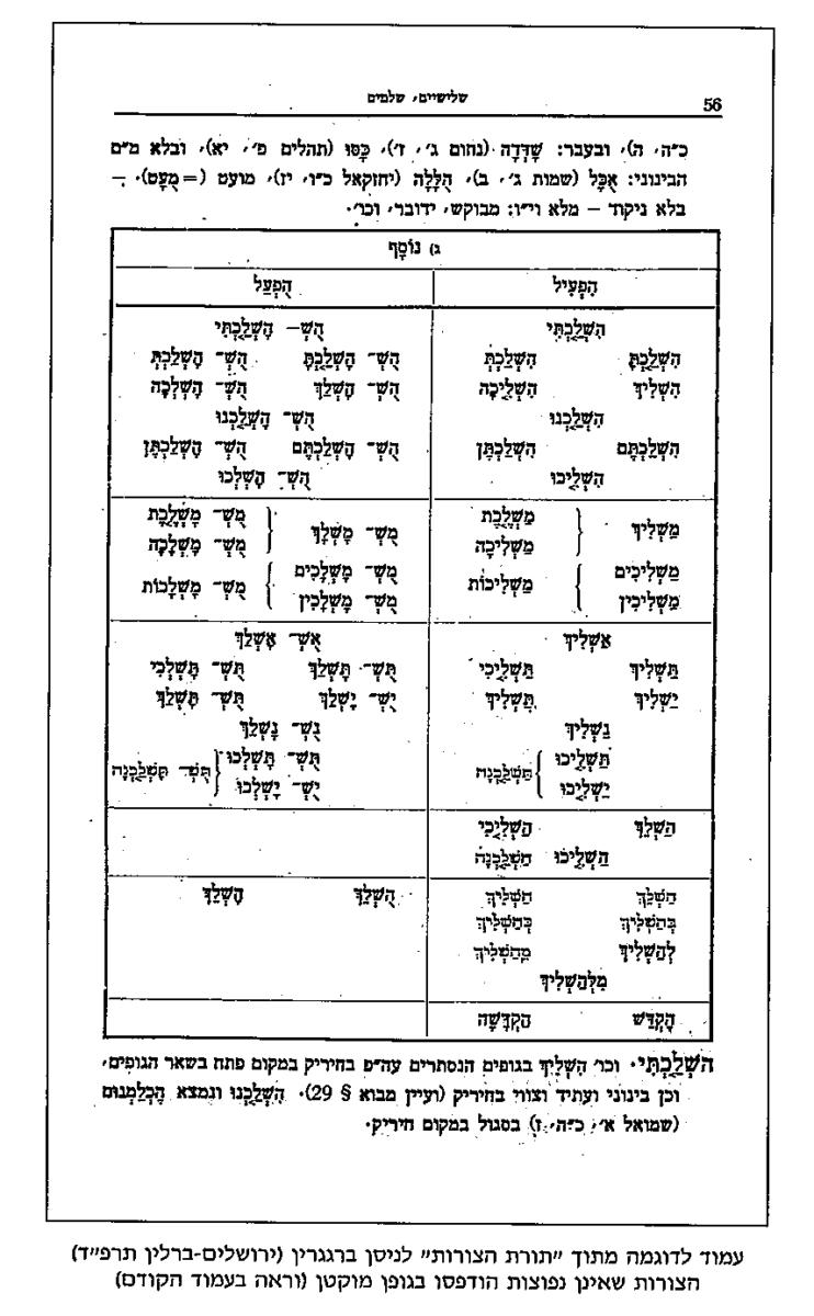 דקדוק העברית המתחדשת ומקורות יניקתו