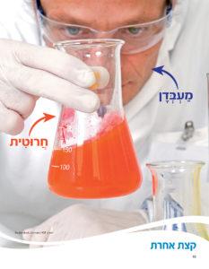 צילום מעבדן בוחן תמיסה בחרוטית