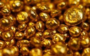 בתמונה: גרגירים של זהב במשקל קרט כל אחד.