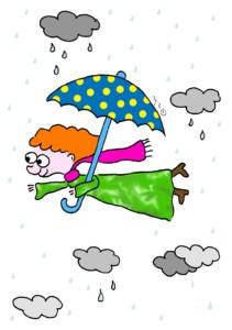 על הגשם והרוח