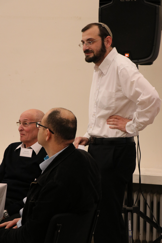 אלכסיי יודציקי (עומד), ירון לישע ואלישע קימרון