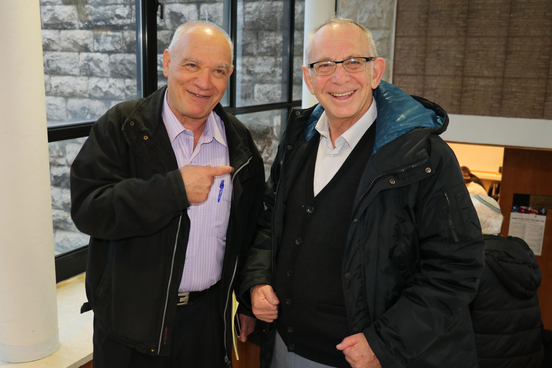 חיים כהן ומשה פלורנטין
