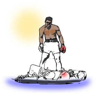 מִגּוּר - knockout