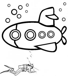 בתמונה: צולל וצוללת