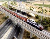 רכבת על גשר