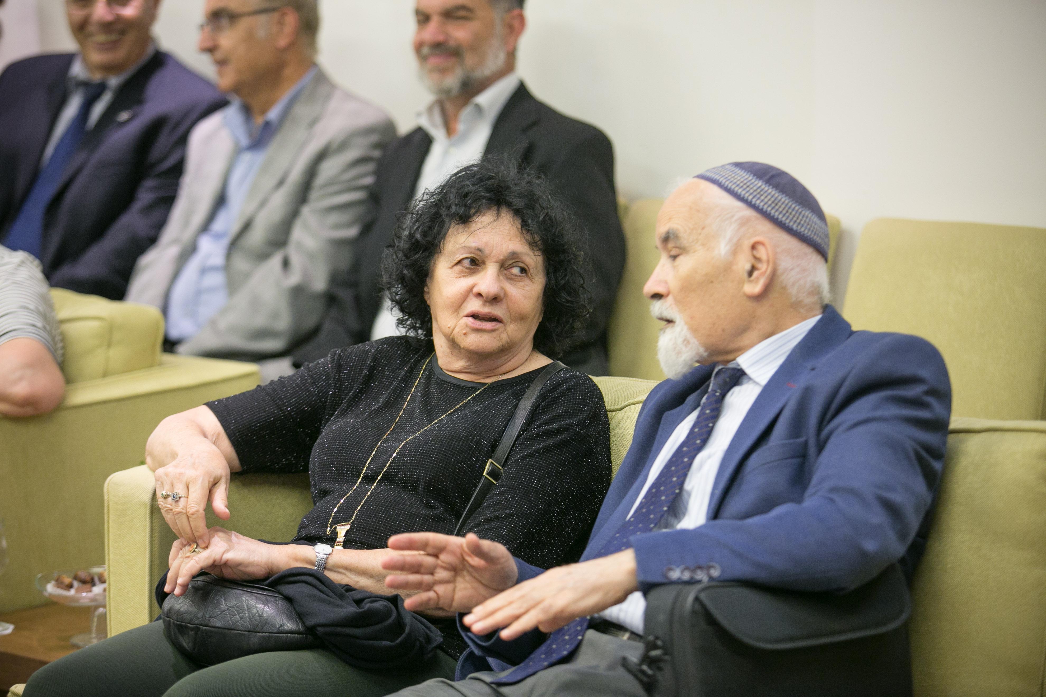 """פרופ' שמעון שרביט וד""""ר קציעה כץ"""